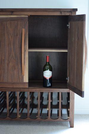 Liquor Cabinet Interior